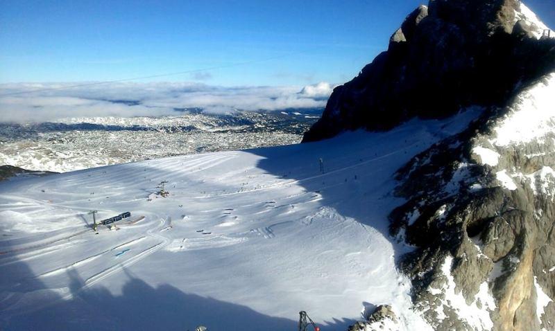 glacier ski Austria