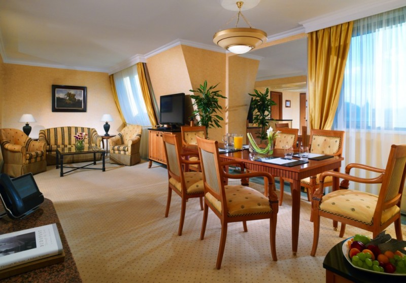The Executive Suite (Credits: Kempinski Hotel Corvinus Budapest)
