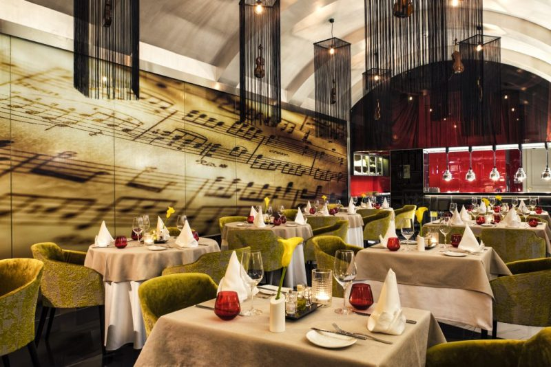 Restaurant Aria Hotel Budapest