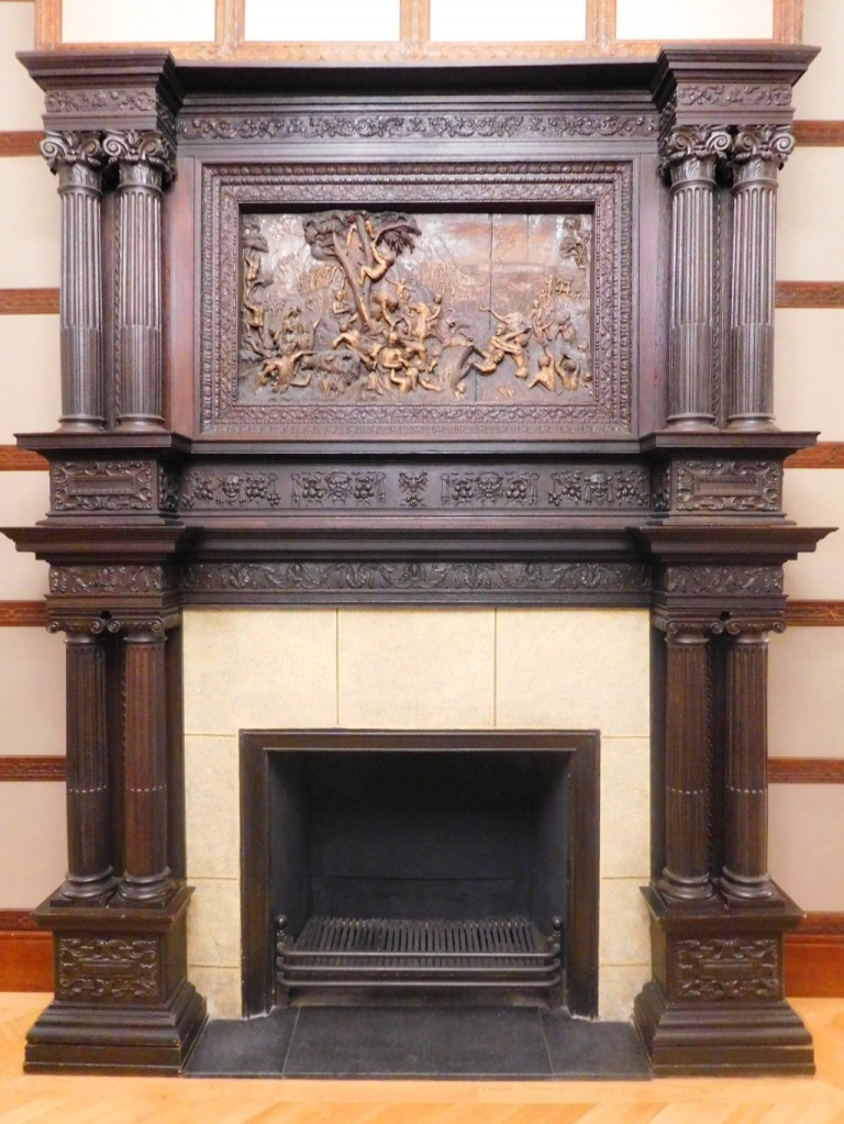 The Ritz fire place