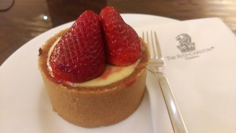 The Ritz cheesecake