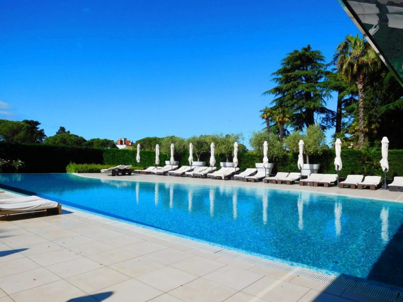 Outdoor pool Kempinski Portoroz