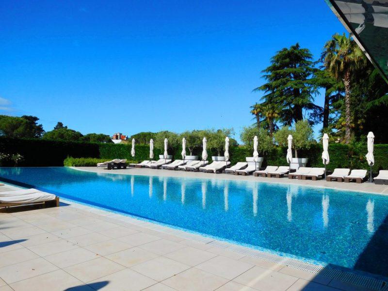 Outdoor pool Kempinski Portoroz