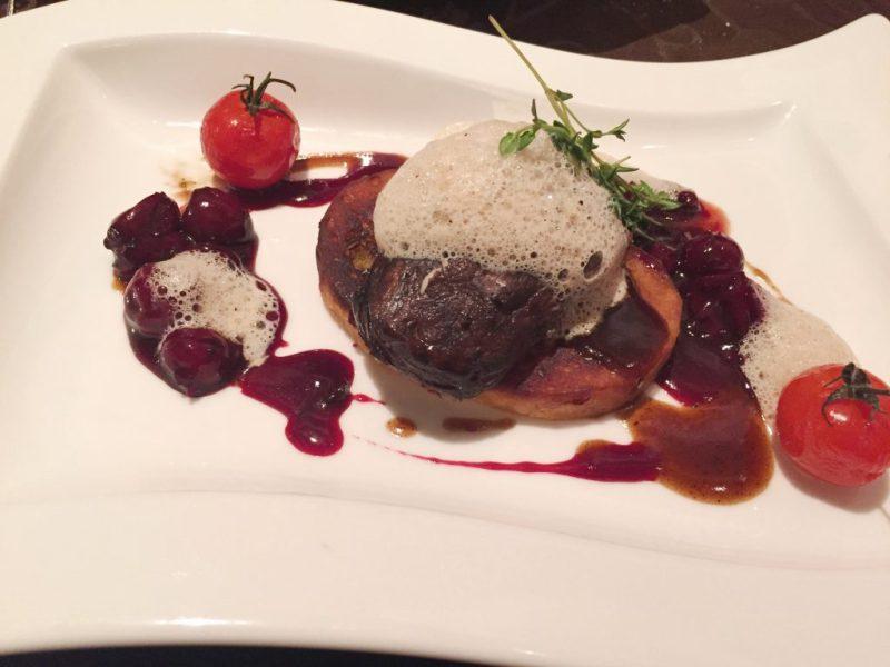 Ritzenhof Hotel dinner