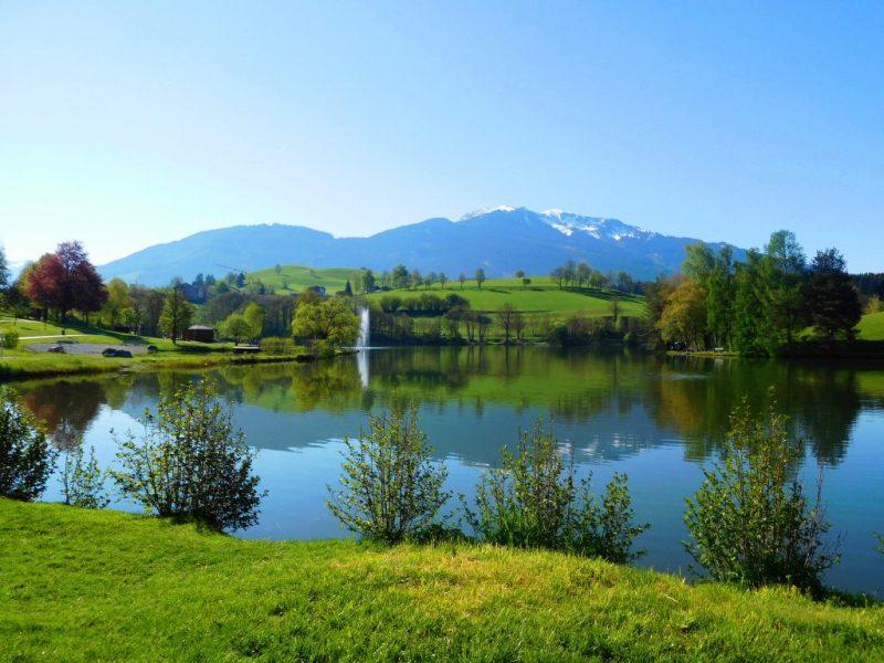 Ritzensee Saalfelden Austria
