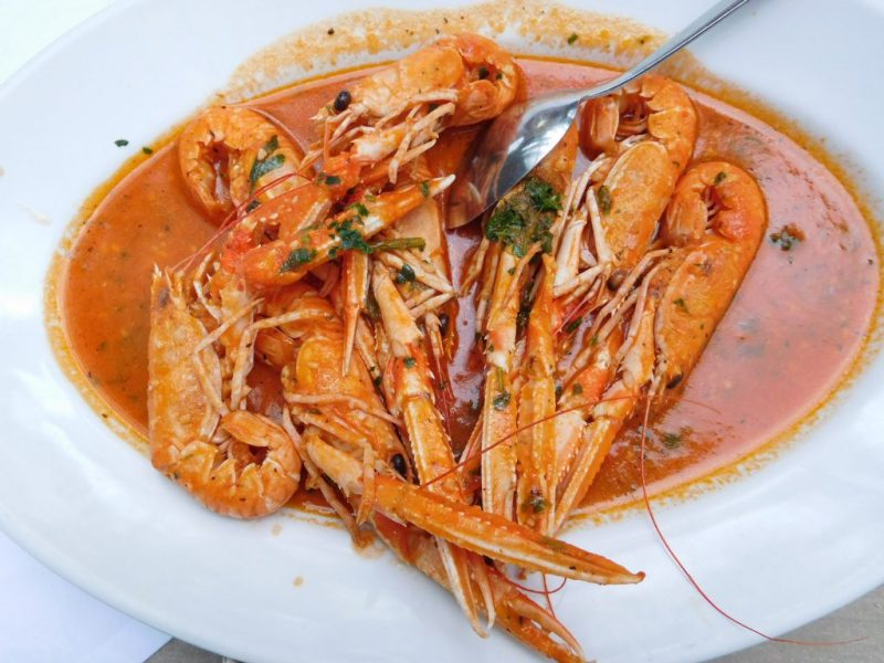 sea food in Istria