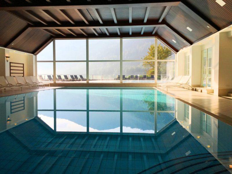 Indoor pool Schloss Hotel Pichlarn