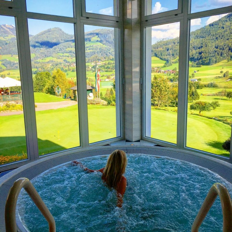 Wellness area Schloss Hotel Pichlarn
