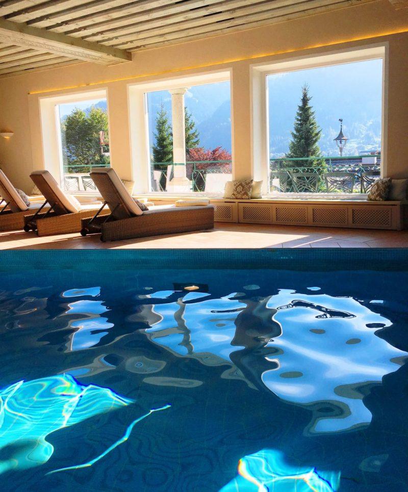 Hotel Tennerhof indoor pool
