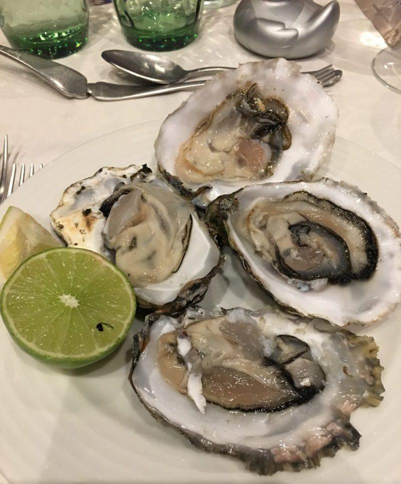 Oyster dinner