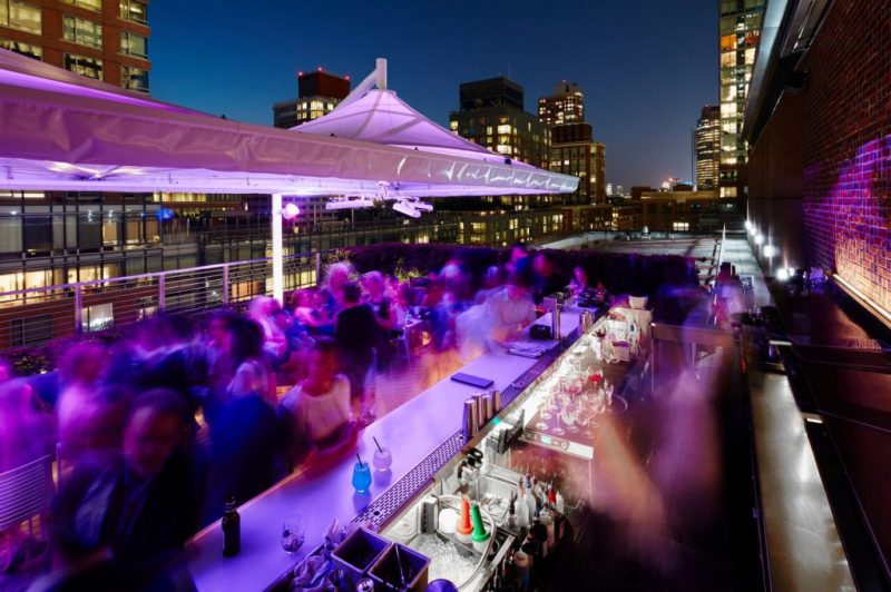 Rooftp Bar Conrad New York