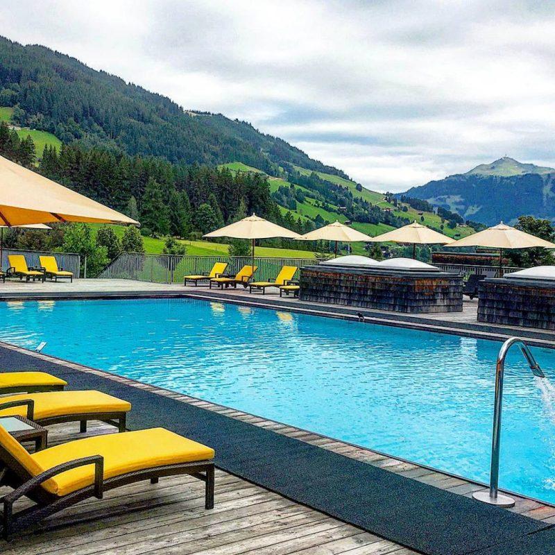 Kempinski outdoor pool