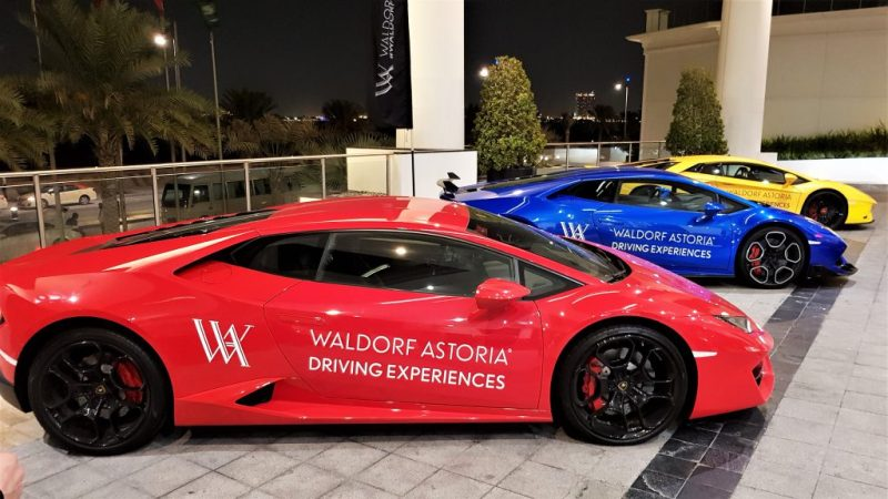 Waldorf Astoria Driving Experience