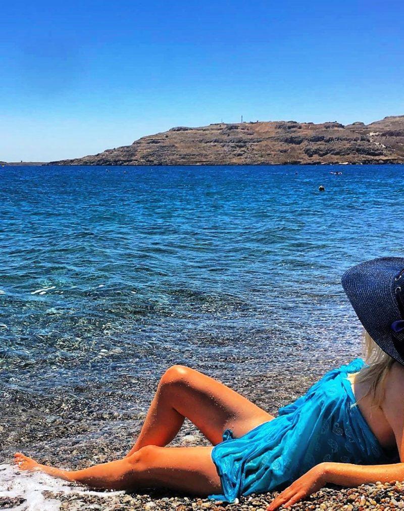 Kalathos Beach Rhodes