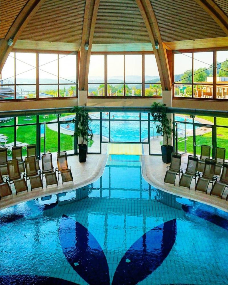 Larimar indoor pool