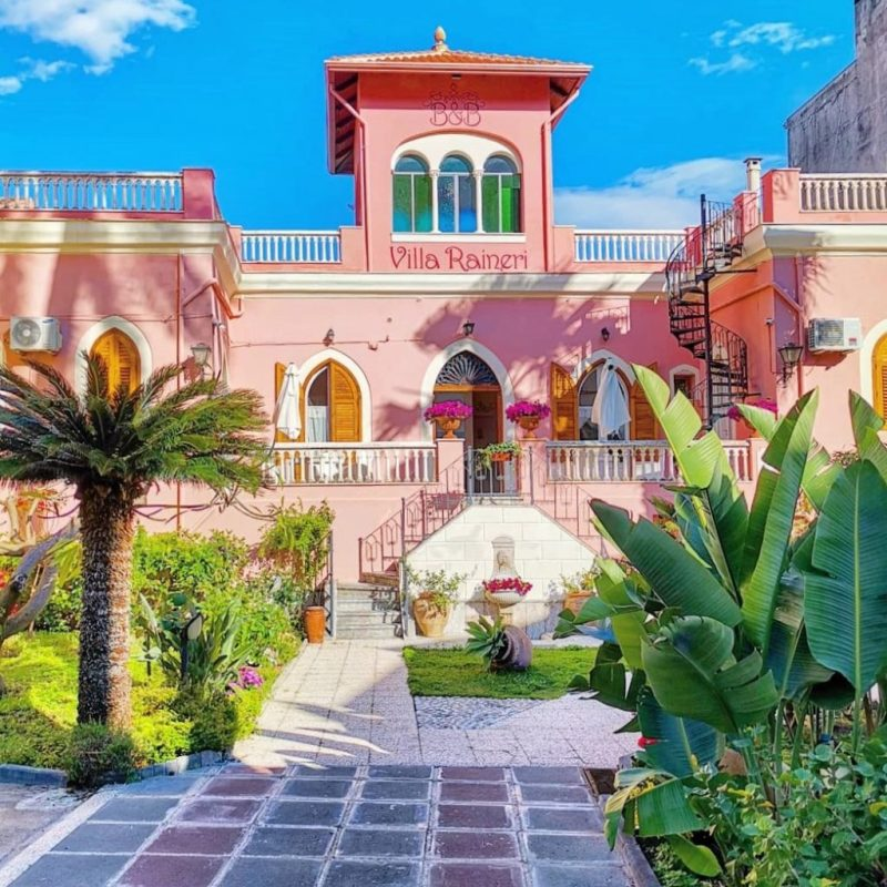 Villa Raineri Giardini Naxos