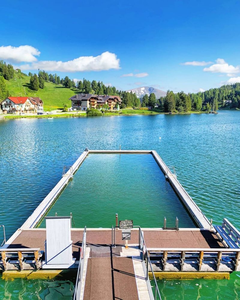 Hotel Hochschober Lake Pool