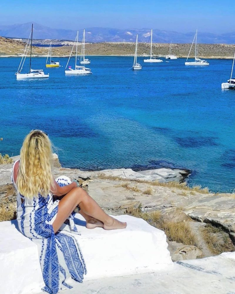 Paros beach Greece