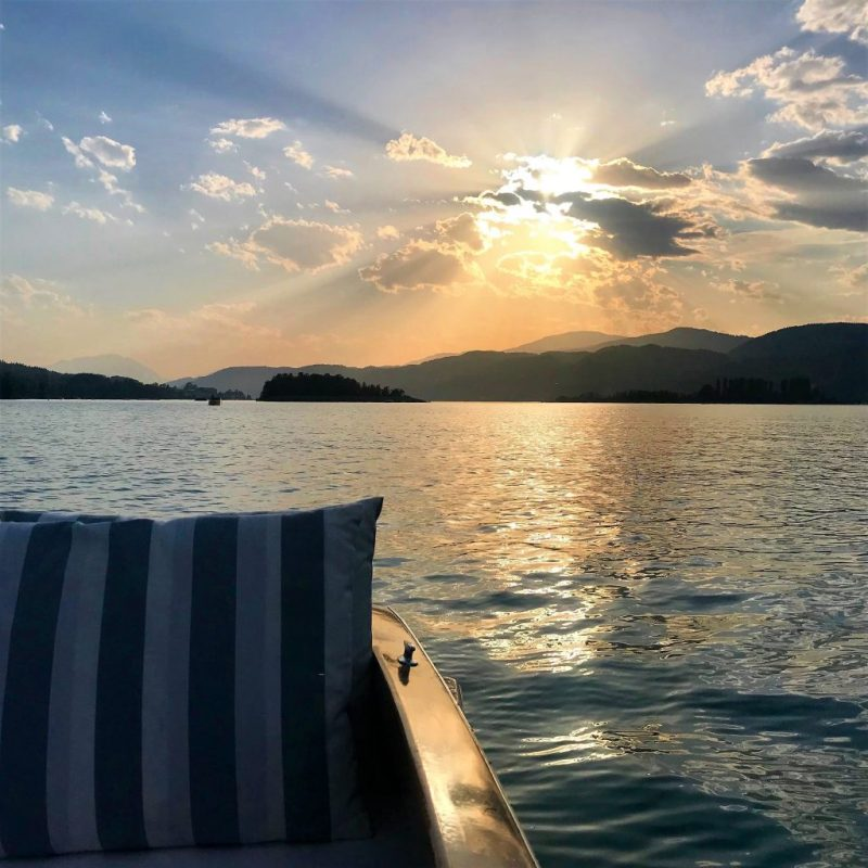 Woerthersee boat